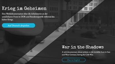 Krieg im Geheimen <br> Webdoku